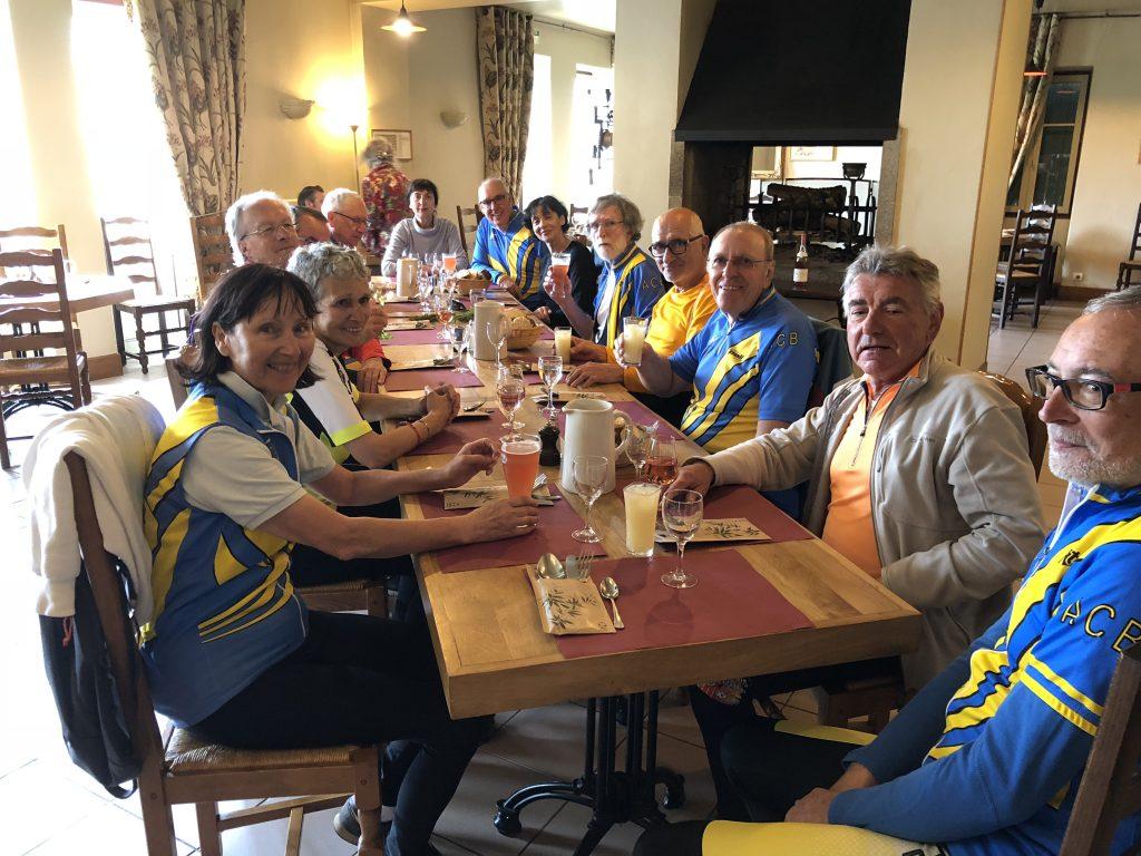 avril 2018 vélo resto à Argenton